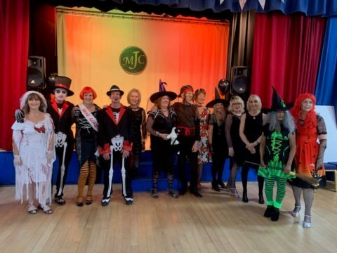 Mottram Jive Club Dancers Halloween